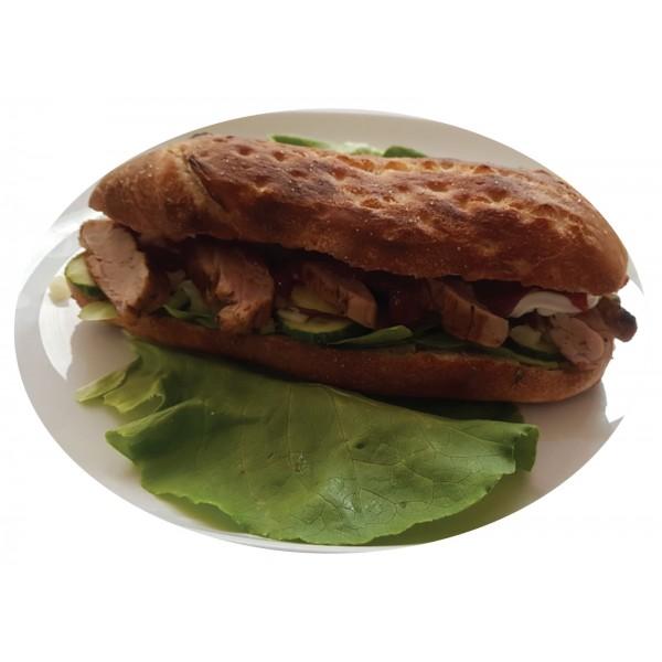 Sandwich cu Muschi de Porc